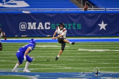 DETROIT, MICHIGAN - DECEMBER 18: The Rocket Mortgage MAC Championship game at Ford Field on December 18, 2020 in Detroit, Michigan. (Photo by Aaron J. Thornton/ALotofSportsTalk.com)