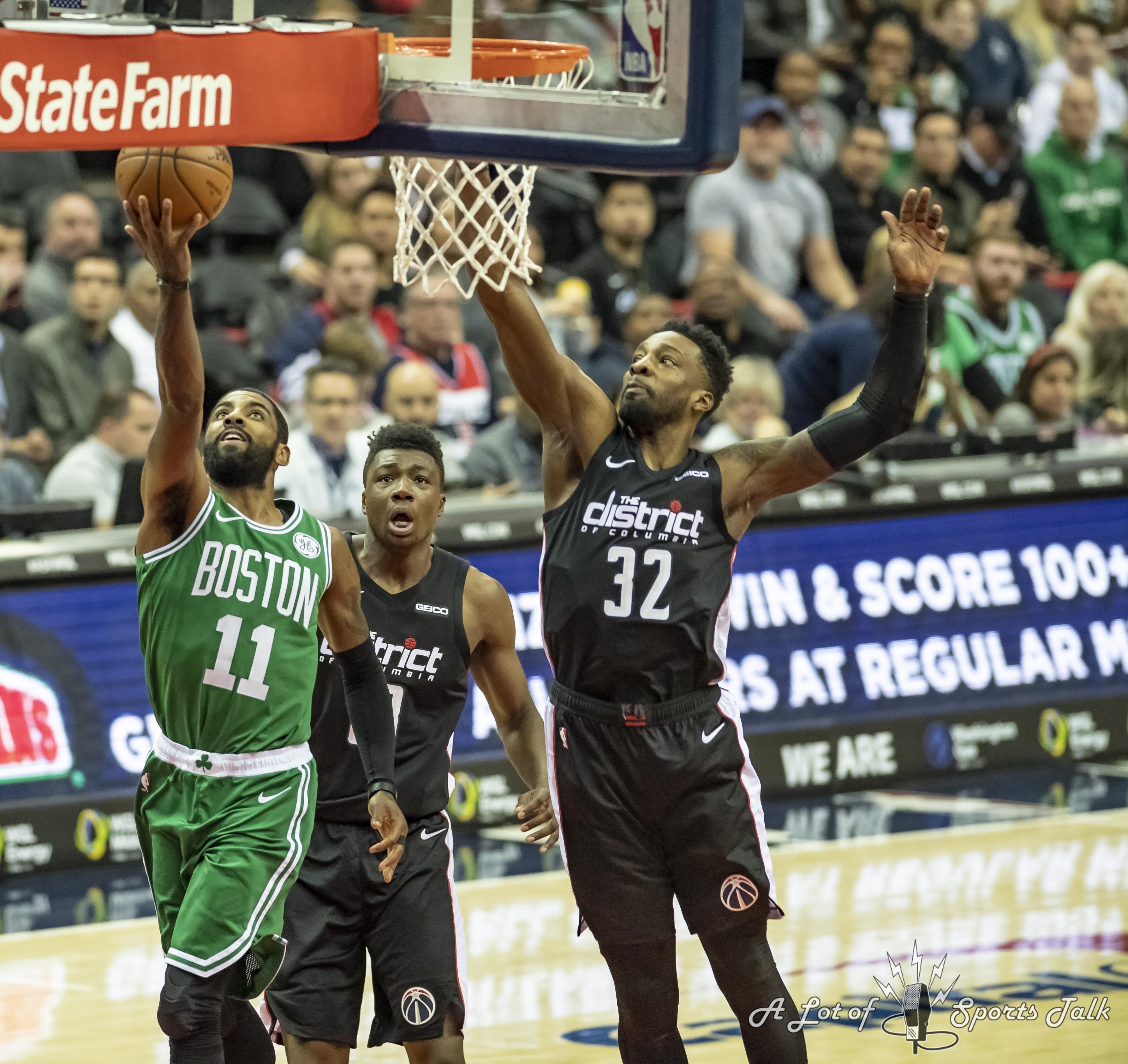 Snap Judgments: Boston Celtics At Washington Wizards (12