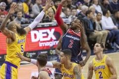 Los Angeles Lakers vs Washington Wizards