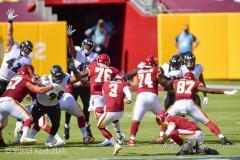 October 4, 2020 Sunday 1pm.NFLwashington vs. RavensCovid 19 game