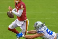 October 25, 2020 Sunday 1pm.NFLwashington vs. cowboysCovid 19 game