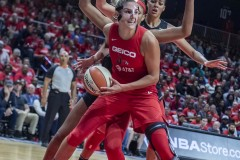 Tuesday, Sept.17 2019WNBA Playoff game #1Washington Mystics vs Las Vegas Aces