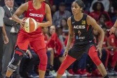 Tuesday, Sept.19 2019WNBA Playoff game #2Washington Mystics vs Las Vegas Aces