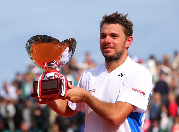 With his first Grand Slam (Australian Open) and Masters 1000 (Monte Carlo) titles under his belt in 2014, Stanislas Wawrinka stands a good chance to make a lot of noise at Roland Garros. (Julian Finney/Getty Images Europe)