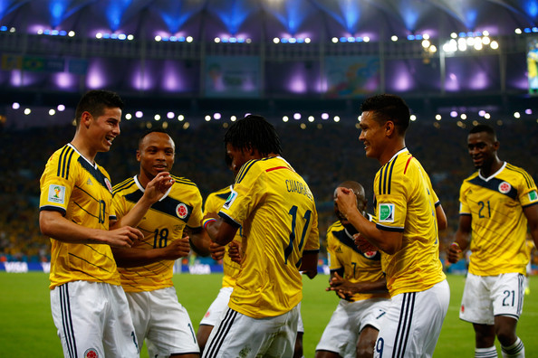 James+Rodriguez+Colombia (Clive Rose:GI South America)