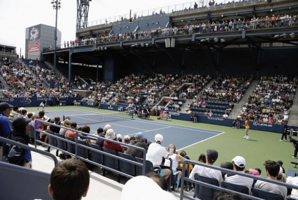 Yes, all the greats of the tennis game usually play at Ashe Stadium, but you might have the most fun at Billie Jean King National Tennis Center  taking in the matches on the outer courts, like the Grandstand.
