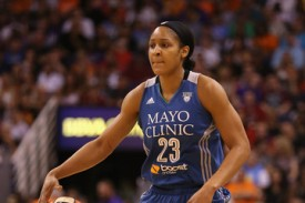 Maya Moore started the season scoring 30 or more points in four straight games, and has barely slowed down ever since (Getty Images)