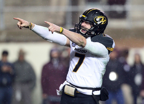 Proving many of the skeptics wrong, Missouri football has flourished since its admittance to the SEC, and quarterback Maty Mauk is looking to point Mizzou to an SEC Championship. (Thomas B. Shea/Getty Images)