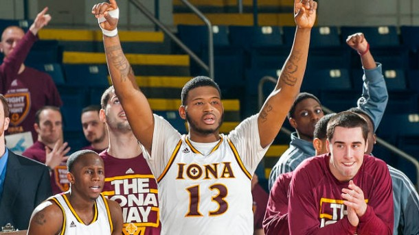 The Iona Gaels finished fourth in the country last season in scoring (83.5 ppg) and could be a Cinderella next March thanks to David Laury. (Stockton Photo Inc.)