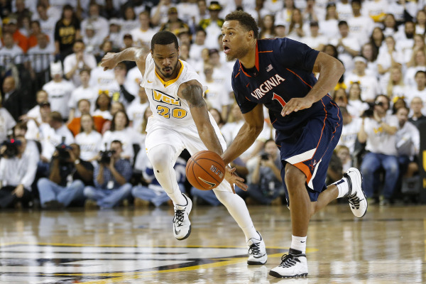 Justin Anderson recovered from a twisted ankle suffered against Maryland to score 21 points on the road in a win vs. VCU. (Geoff Burke/USA Today Sports)