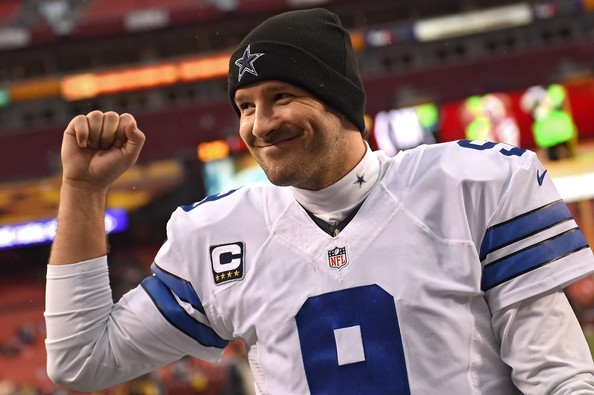 Cowboys quarterback Tony Romo, who usually struggles in the month of December, threw 12 touchdowns and only one interception in the season's final month to lift the Cowboys to the NFC East crown. (Patrick Smith/Getty Images)