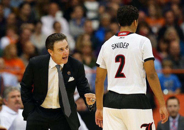It took the whole season - and the dismissal of Louisville's regular starting guard right before the end of the season - to trust freshman point guard Quentin Snider, who's scored 10+ points in all three NCAA Tournament Games (Elsa/Getty Images)