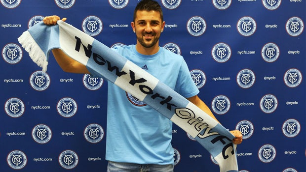 A World Cup winner with Span and a Champions League and La Liga winner with FC Barcelona, David Villa will now spend the twilight of his outstanding career in the Big Apple with NYC FC. (MLS Soccer)