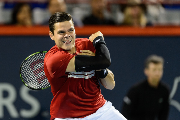 Milos had some big struggles, and he lost. Oh, well! (Minas Panagiotakis/Getty Images North America)