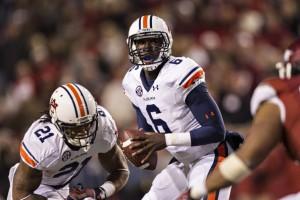 Jeremy Johnson of Auburn. (Wesley Hitt/Getty Images)