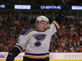 There's no denying the extraordinary skill of Vladimir Tarasenko, but can he help the Blues shake off their tag of being playoff disappointments? (Jonathan Daniel/Getty Images)