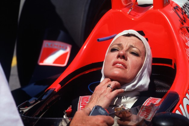 Not only did St. James - seen here competing in the 1992 Indy 500 - make six stars at The Brickyard, she also competed in other prestigious racing events across the world, including the 24 Hours of Le Mans. (Gilles Levent/DPPI)
