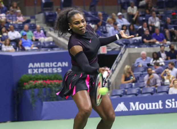 Serena Williams has been No. 1 in the world for 185 consecutive weeks, one week shy of tying Steffi Graf's record. But she will need to reach the US Open final - or beat No. 2 Angelique Kerber in the final - to retain her No. 1 spot. (Robert Cole)