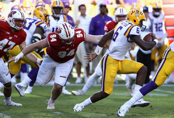 Questions definitely still remain at quarterback in Baton Rouge after Brandon Harris' so-so performance against Wisconsin. The SEC had a so-so week overall in Week 1. (Jonathan Daniel/Getty Images)