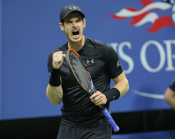 It hasn't been a bad 2016 for Andy Murray at all so far: three Grand Slam finals appearances, a second Wimbledon title and a second Olympics gold. He'll take to Ashe Stadium in the afternoon today. (Photo: Robert Cole)