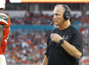 Things have gone swimmingly for Mark Richt after the first three games of his tenure with the Hurricanes. (Joel Auerbach/Getty Images)