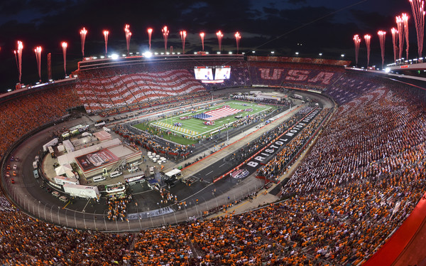 So how do you know that college football is back? You know when you find out that two traditional Southern football powers square off in a primetime non-conference game in the middle of a motor speedway. Virginia Tech and Tennessee did just that last week. (Michael Shroyer/Getty Images)