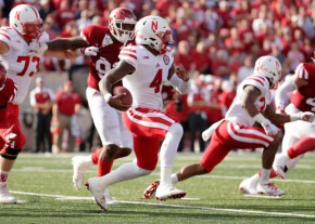 Along with his arm, Nebraska quarterback Tommy Armstrong Jr. leads the Huskers with five rushing touchdowns. (Andy Lyons/Getty Images)