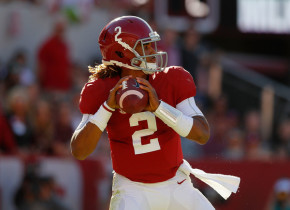 Is it possible that another freshman quarterback who wears No. 2 wins the Heisman Trophy? The Tide's Jalen Hurts definitely has a chance. (Kevin C. Cox/Getty Images)