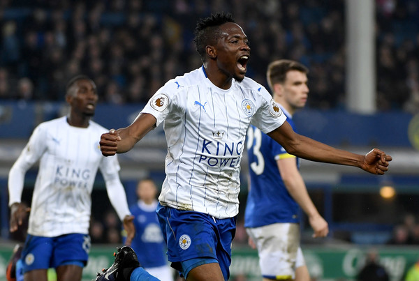 With only 24 goals after 21 league games, Leicester City will need more from summer signing - and Nigerian international - Ahmed Musa in order to avoid a relegation fight. (Ross Kinnaird/Getty Images Europe)