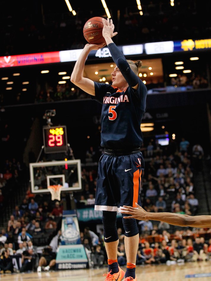 No. 5 Virginia: Man Bun alert!