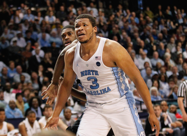 There's plenty of motivation for Kennedy Meeks and UNC after losing in the ACC Tourney semis. Of course, the Heels are looking to win one more game in the NCAA Tourney than they did last season, when they were national runners-up. (Robert Cole/ALOST)
