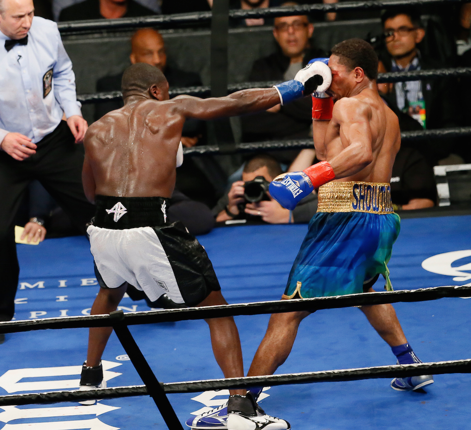 Boxing: Berto vs. Porter