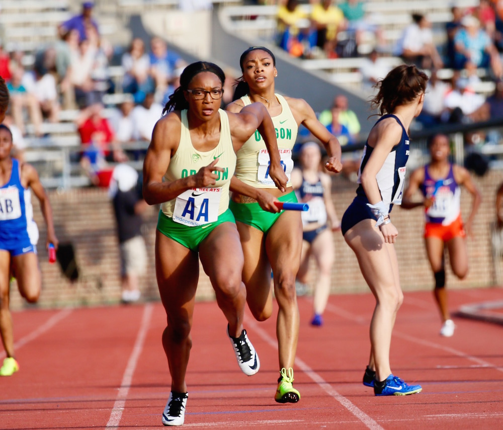 2017 Penn Relays - College Women's Sprint Medley