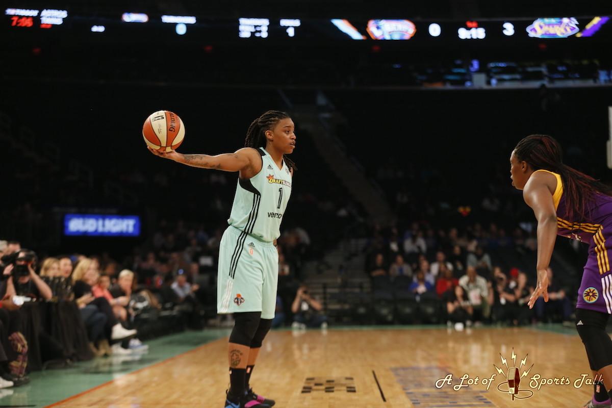 WNBA: Sparks at Liberty (05.30.17)