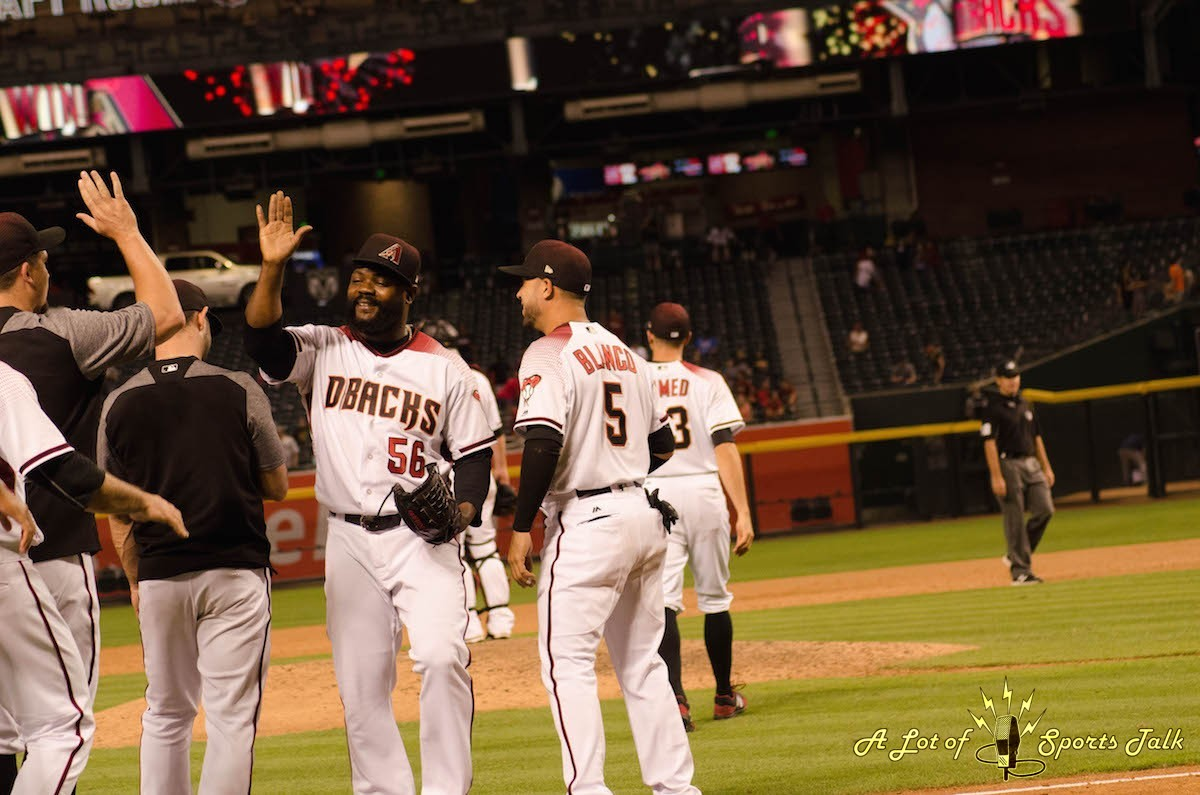 MLB: San Diego Padres at Arizona Diamondbacks (06.07.17)