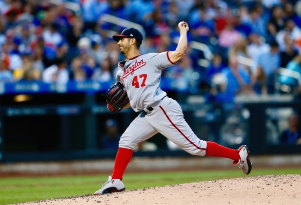 Like death and taxes, Gio Gonzalez twirling a masterpiece at Citi Field is a guarantee, as he improved to 10-1 in his career at the ball park after a seven-inning gem tonight. (Robert Cole/ALOST)