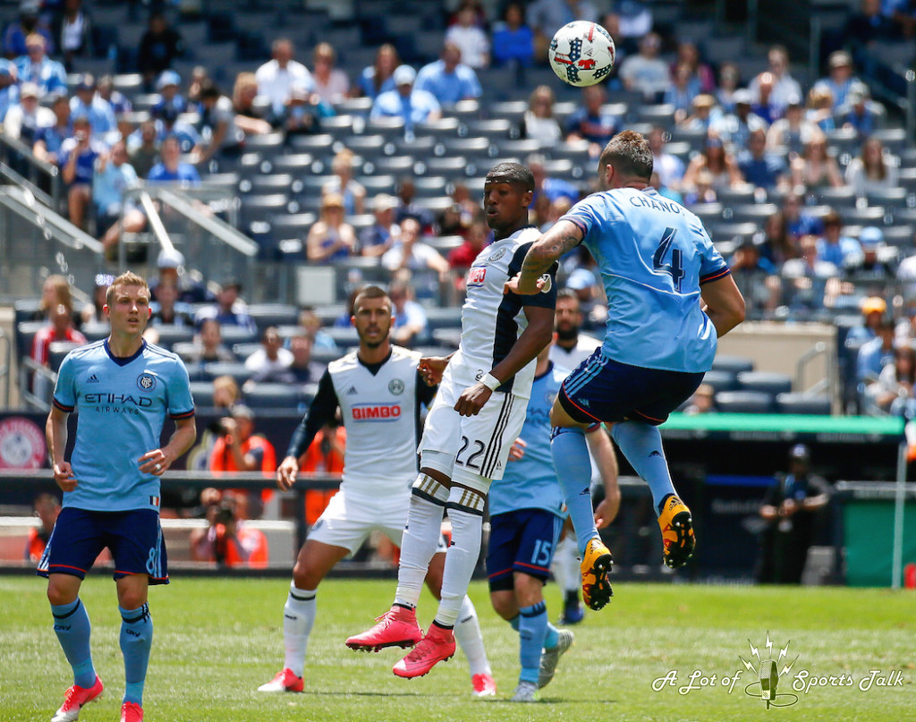 MLS: New York City FC vs. Philadelphia Union (06.03.17)