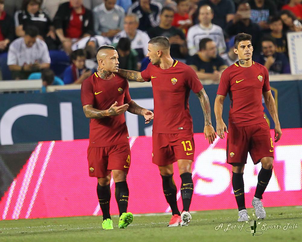 Tottenham Hotspur vs. A.S. Roma (International Champions Cup, 07.25.17)