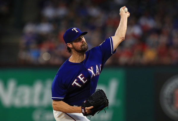 In 11 starts this season, Cole Hamels has only lost one game so far, allowing just 57 hits in 70.1 innings pitched. (Ronald Martinez/Getty Images)
