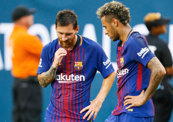 The Messi-Neymar era - highlighted by two La Liga titles, three wins in the Copa del Rey and the 2015 Champions League trophy - might be coming to an end at Barcelona with reports that PSG are set to obtain the Brazilian. (Robert Cole/ALOST)