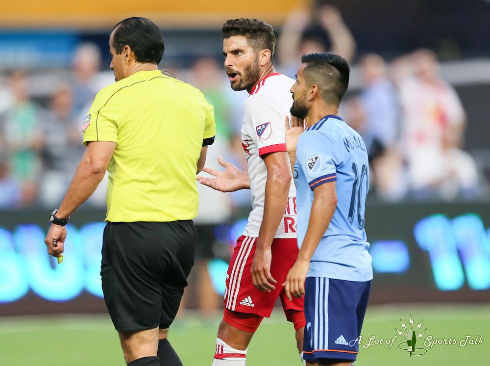 MLS: New York City FC vs. New York Red Bulls (08.06.17)