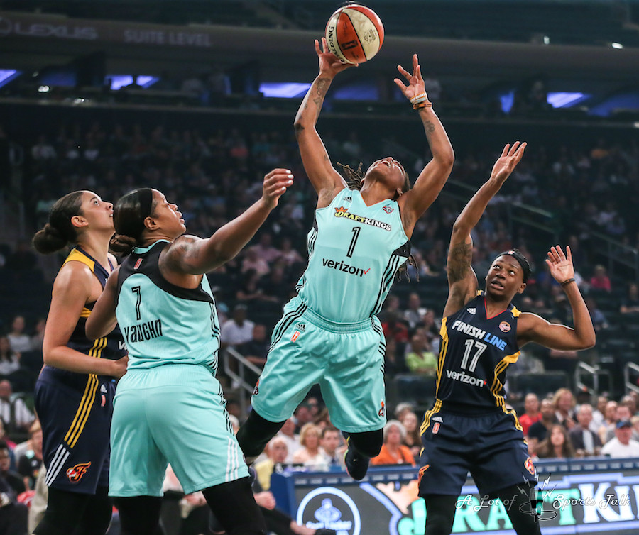 WNBA: Indiana Fever at New York Liberty (08.08.17)