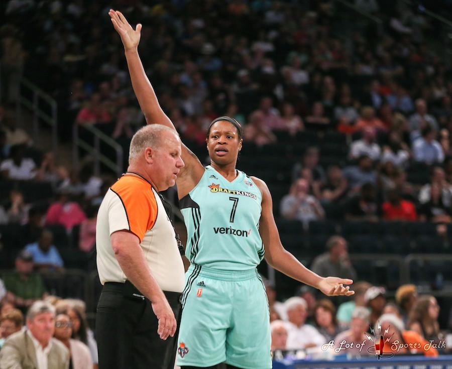 WNBA: Indiana Fever at New York Liberty (08.08.17)