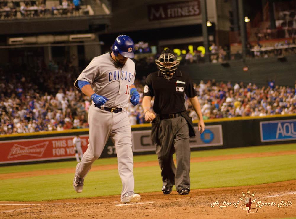MLB: Chicago Cubs at Arizona Diamondbacks (08.11.17)