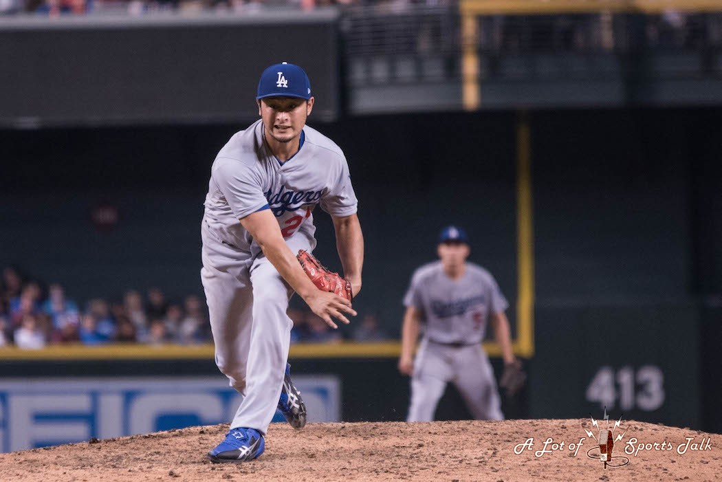 MLB: Los Angeles Dodgers at Arizona Diamondbacks (08.11.17)
