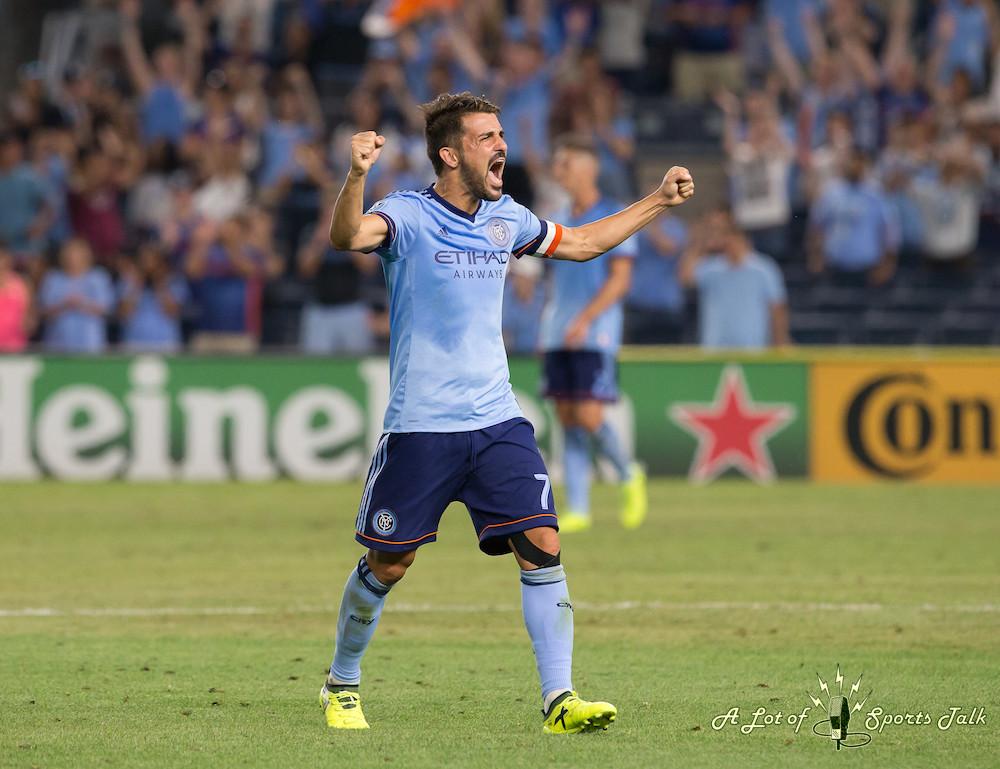 MLS: New York City FC vs. New England Revolution (08.22.17)