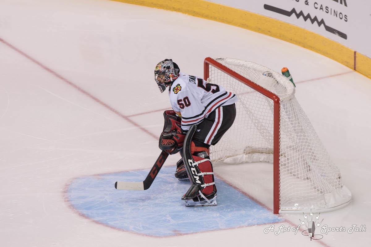 NHL: Chicago Blackhawks at Arizona Coyotes (10.21.17)