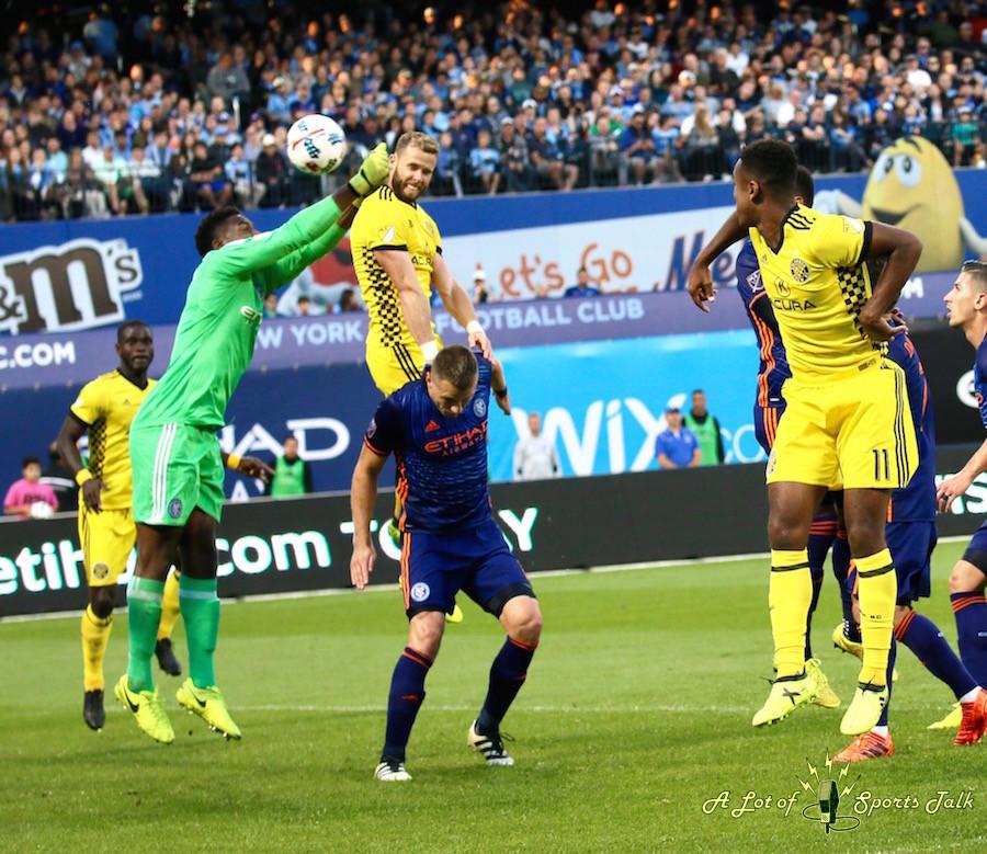 MLS: New York City FC vs. Columbus Crew SC (10.22.17)