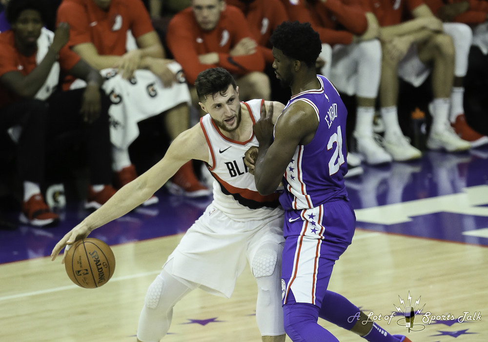 NBA: Portland Trail Blazers at Philadelphia 76ers (11.22.17)
