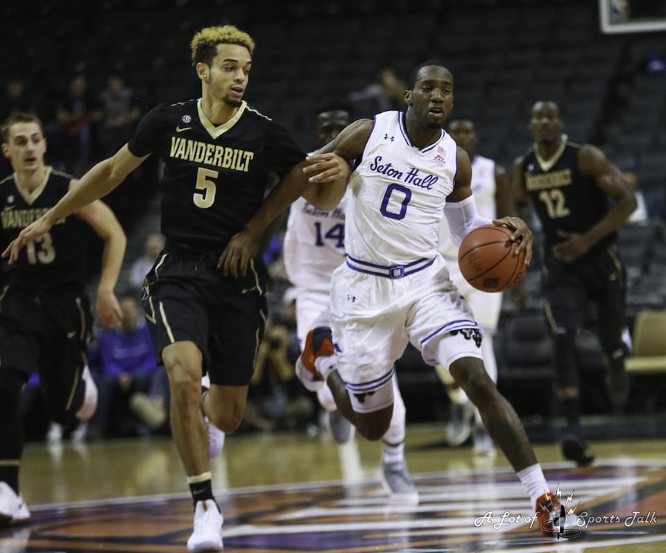 2017 NIT Season Tip-Off Consolation: Vanderbilt vs. Seton Hall